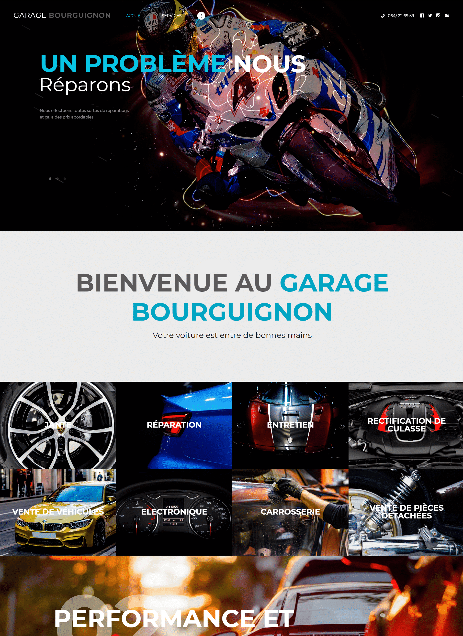 site web Garagebourguignon