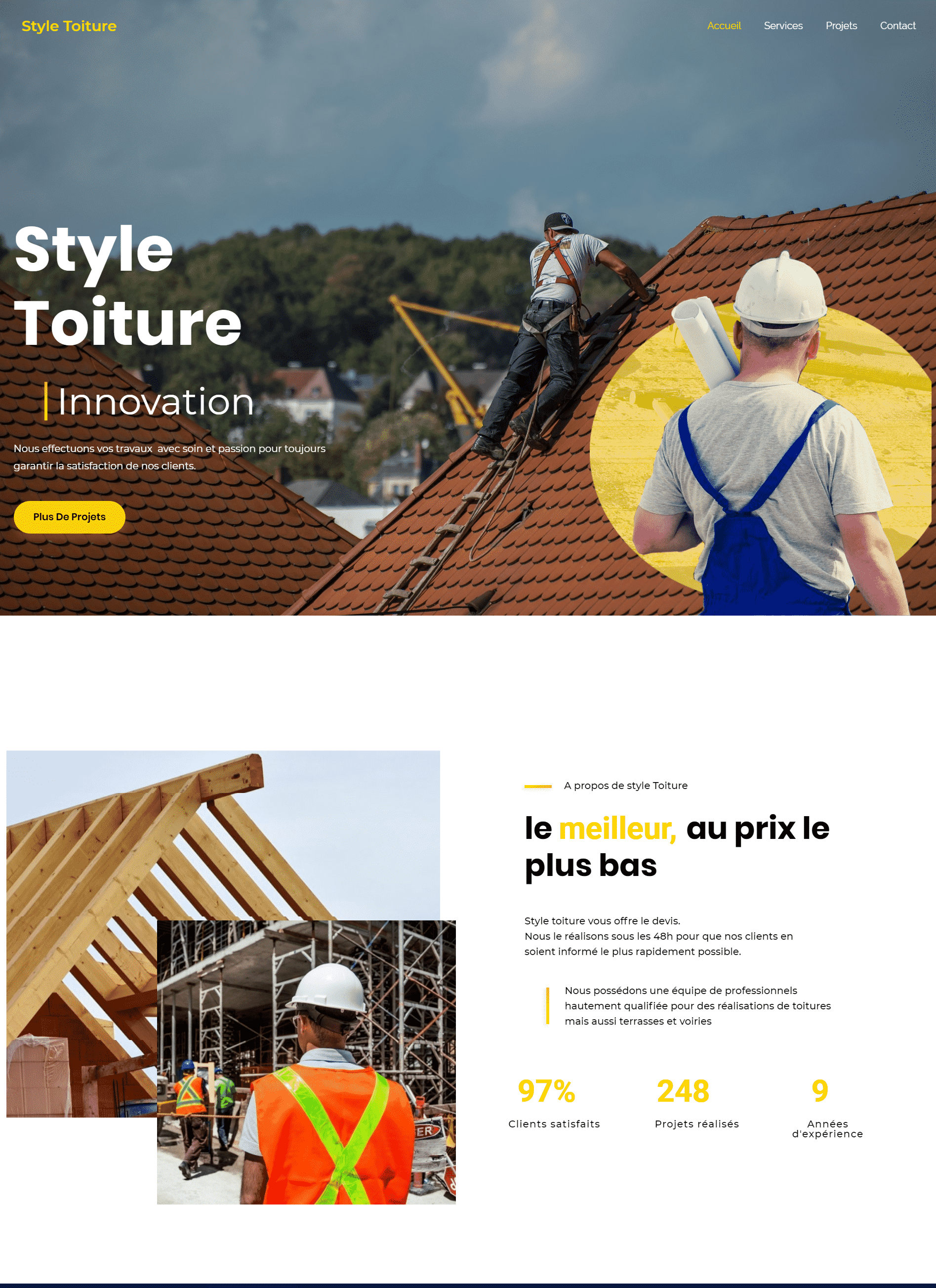 site web styletoiture